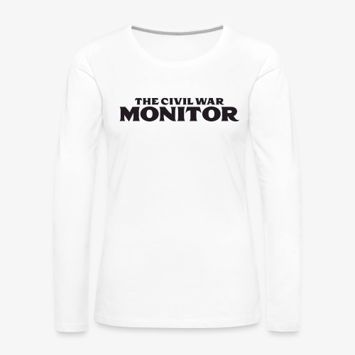 CWM LOGO BLACK - Women's Premium Long Sleeve T-Shirt