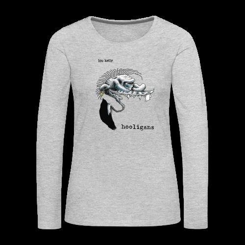 Lou Kelly - Hooligans Album Cover - Women's Premium Long Sleeve T-Shirt