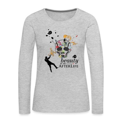 skull - Women's Premium Long Sleeve T-Shirt