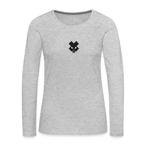 T.V.T.LIFE LOGO - Women's Premium Slim Fit Long Sleeve T-Shirt
