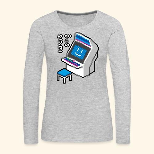 Pixelcandy_BC - Women's Premium Slim Fit Long Sleeve T-Shirt