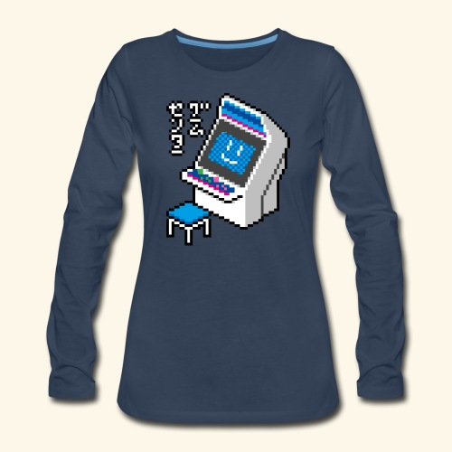 Pixelcandy_BC - Women's Premium Long Sleeve T-Shirt