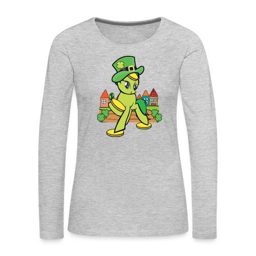 Irish Lucky Pony - Women's Premium Long Sleeve T-Shirt