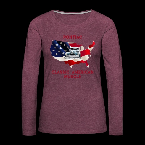 PONTIAC MUSCLE - Women's Premium Long Sleeve T-Shirt