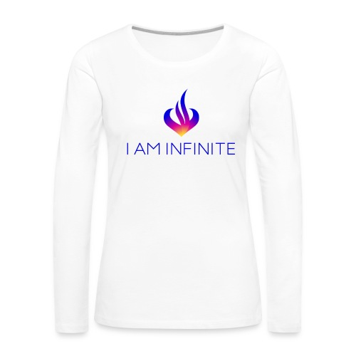 I Am Infinite - Women's Premium Long Sleeve T-Shirt