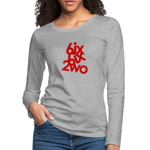 662 Red - Women's Premium Slim Fit Long Sleeve T-Shirt