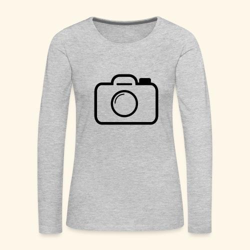 Camera - Women's Premium Long Sleeve T-Shirt