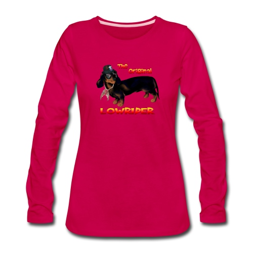 The Original Lowrider - Women's Premium Long Sleeve T-Shirt