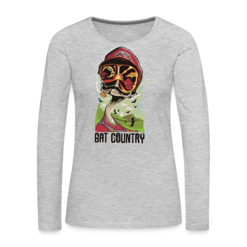 Fear and Mario at Bat Country - Women's Premium Long Sleeve T-Shirt