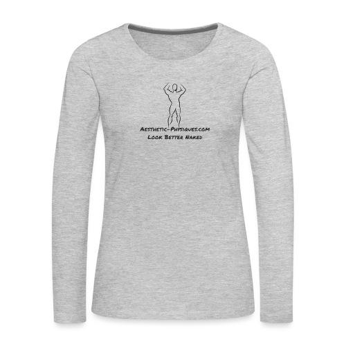 Classic Logo - Women's Premium Long Sleeve T-Shirt