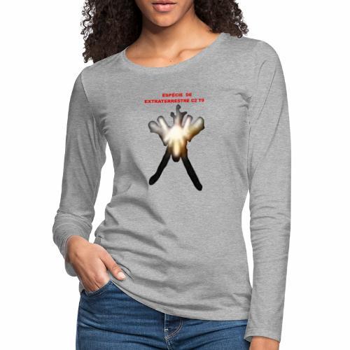 ESPE CIE DE EXTRATERRESTRE C2 T9 - Women's Premium Slim Fit Long Sleeve T-Shirt