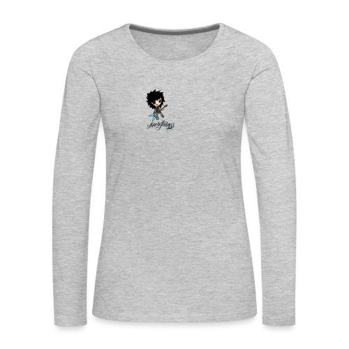 axelofabyss self portrait - Women's Premium Long Sleeve T-Shirt