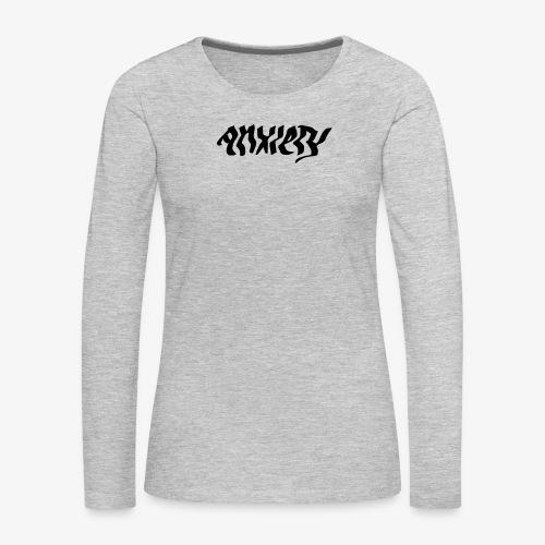 anxiety - Women's Premium Long Sleeve T-Shirt