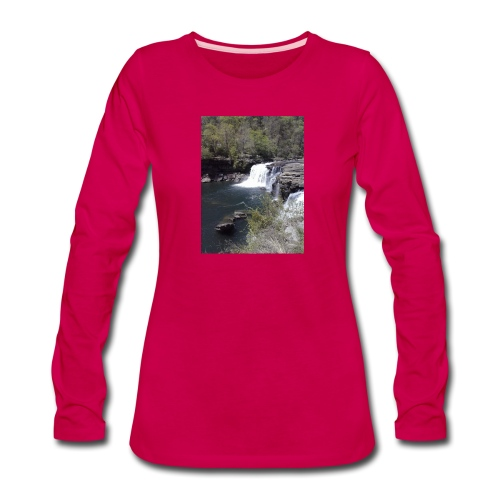 LRC waterfall - Women's Premium Long Sleeve T-Shirt