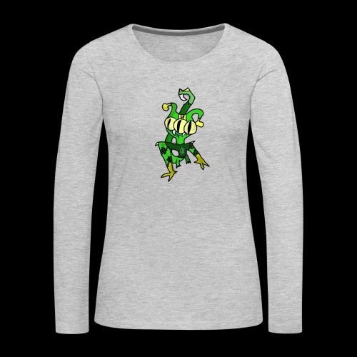 Three-Eyed Alien - Women's Premium Long Sleeve T-Shirt
