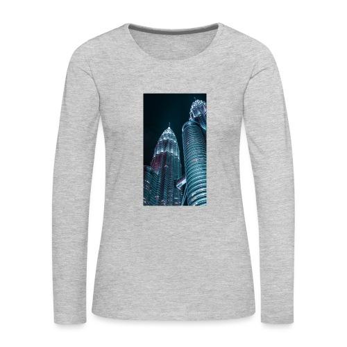 C0618608 28FC 4668 9646 D9AC4629B26C - Women's Premium Slim Fit Long Sleeve T-Shirt
