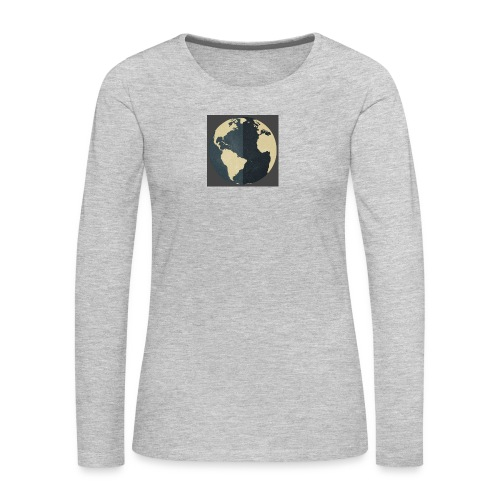 The world as one - Women's Premium Long Sleeve T-Shirt