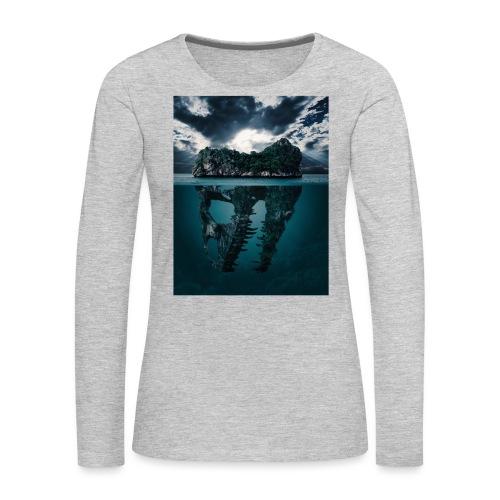Lost Sea - Women's Premium Slim Fit Long Sleeve T-Shirt