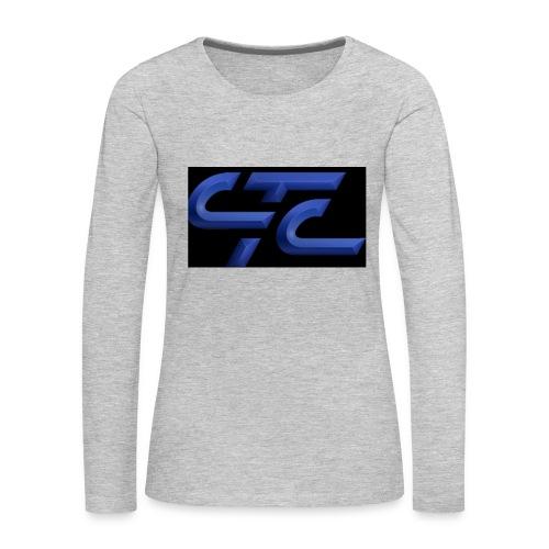 4CA47E3D 2855 4CA9 A4B9 569FE87CE8AF - Women's Premium Slim Fit Long Sleeve T-Shirt