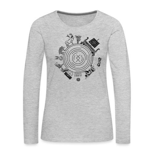 Freyr - God of the World - Women's Premium Long Sleeve T-Shirt