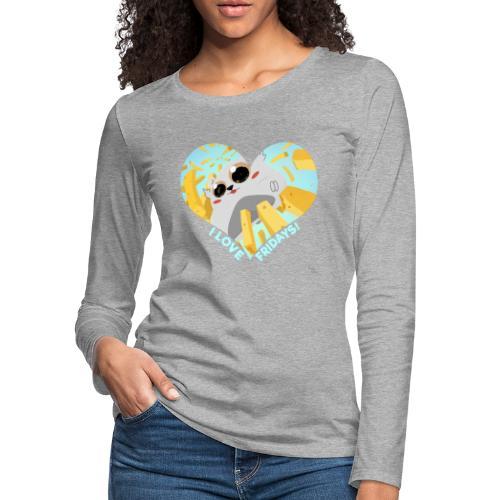 I Love Fridays! - Women's Premium Slim Fit Long Sleeve T-Shirt