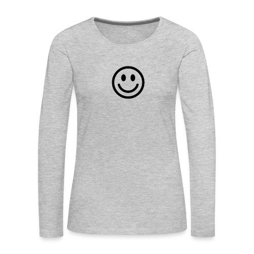 smile - Women's Premium Long Sleeve T-Shirt