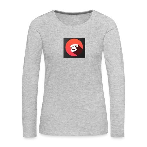 BENTOTHEEND PRODUCTS - Women's Premium Slim Fit Long Sleeve T-Shirt