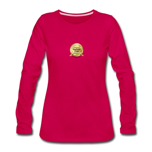Supporters Collection - Women's Premium Slim Fit Long Sleeve T-Shirt