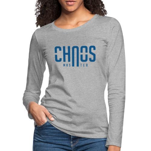 chaos master - Women's Premium Slim Fit Long Sleeve T-Shirt