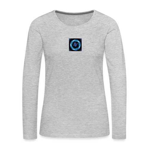 MY YOUTUBE LOGO 3 - Women's Premium Long Sleeve T-Shirt