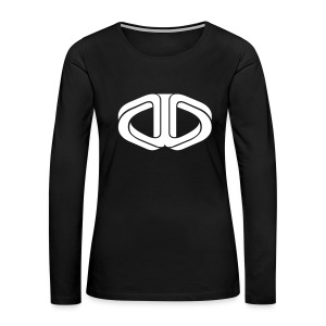 Drone Manipulation Logo - Women's Premium Long Sleeve T-Shirt