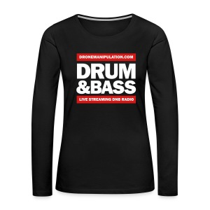 Drum and Bass - Women's Premium Long Sleeve T-Shirt
