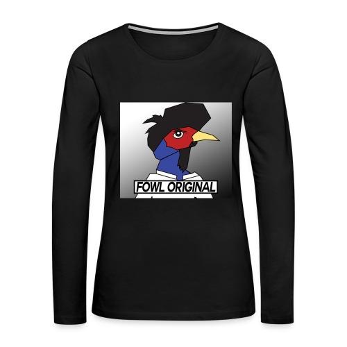 Fowl Original Logo - Women's Premium Long Sleeve T-Shirt