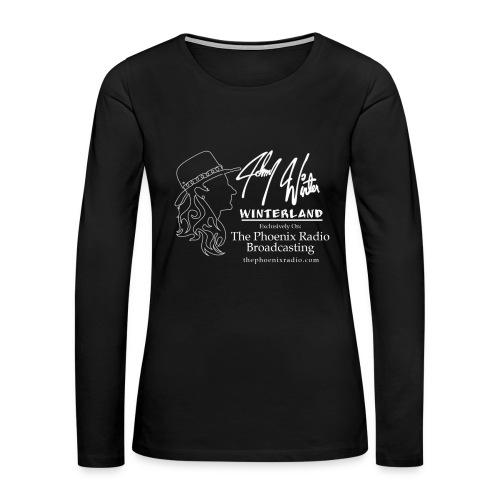 Johnny Winter's Winterland - Women's Premium Long Sleeve T-Shirt