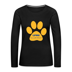 LPMS Logo - Women's Premium Long Sleeve T-Shirt