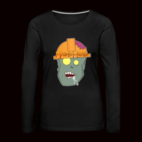 hard head zombie - Women's Premium Long Sleeve T-Shirt