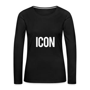 Icon - Women's Premium Long Sleeve T-Shirt