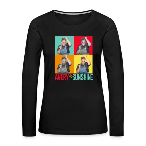 Hollywood Squares - Women's Premium Long Sleeve T-Shirt