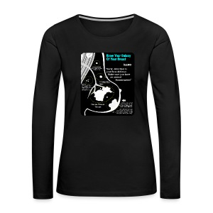 Know Your Galaxy Of Your Breast - Women's Premium Long Sleeve T-Shirt