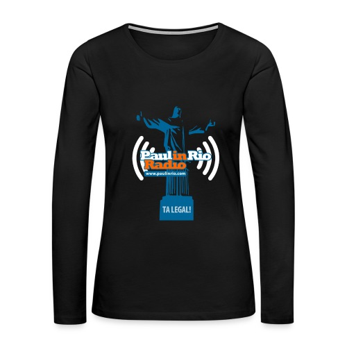 Paul in Rio Radio - The Thumbs up Corcovado #2 - Women's Premium Long Sleeve T-Shirt