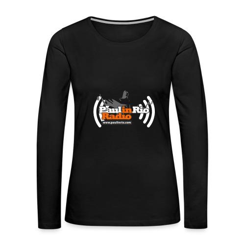 Paul in Rio Radio - Thumbs-up Corcovado #1 - Women's Premium Long Sleeve T-Shirt