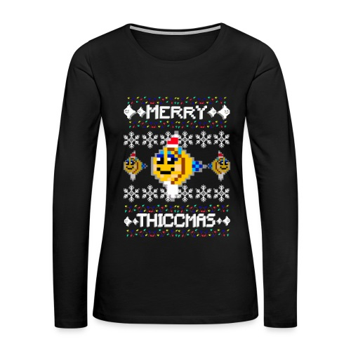 Merry Thiccmas - Women's Premium Long Sleeve T-Shirt