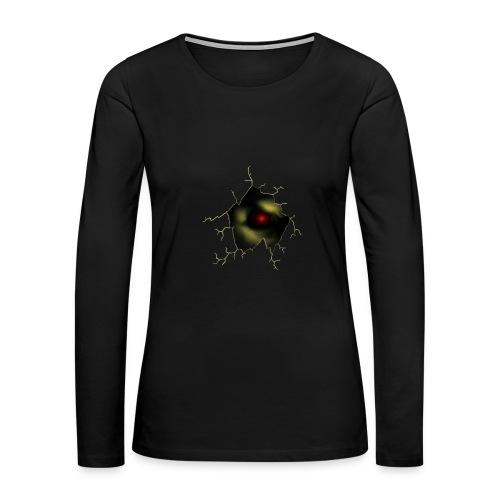 Broken Egg Dragon Eye - Women's Premium Long Sleeve T-Shirt