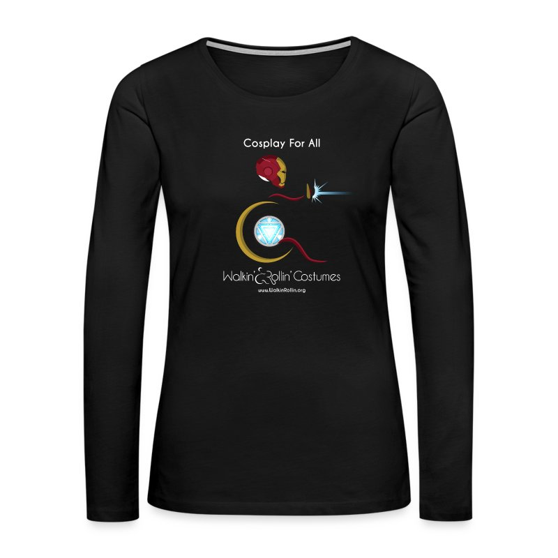Cosplay For All: IronMan - Women's Premium Long Sleeve T-Shirt