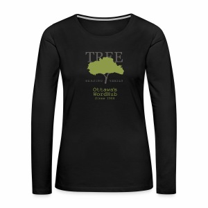 Tree Reading Swag - Women's Premium Long Sleeve T-Shirt