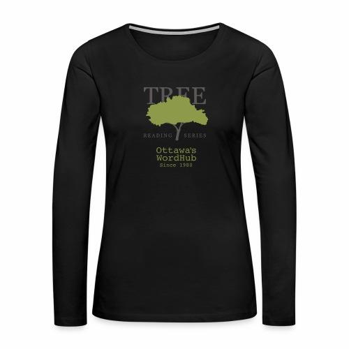 Tree Reading Swag - Women's Premium Long Sleeve T-Shirt