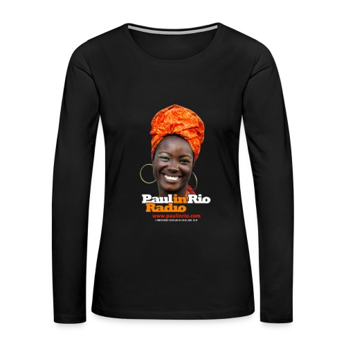 Paul in Rio Radio - Mágica garota - Women's Premium Long Sleeve T-Shirt