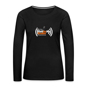 Paul in Rio Radio - Thumbs-up Corcovado #1 - Women's Premium Long Sleeve T-Shirt