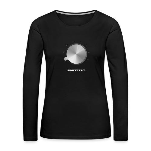 Spaceteam Dial - Women's Premium Long Sleeve T-Shirt