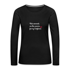 confidence - Women's Premium Long Sleeve T-Shirt